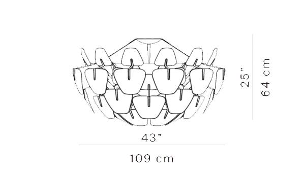 Hope diámetro 109 cm