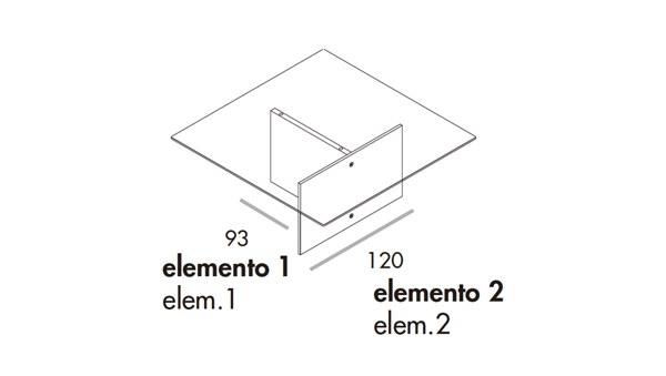 Regolo 180x180x74