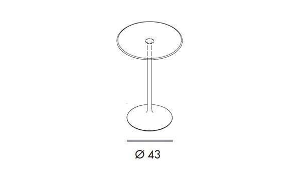 Flute bar diámetro 62x110h