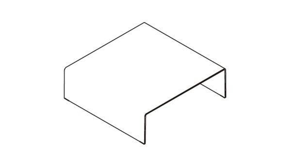 Bridge square 110x110x36h