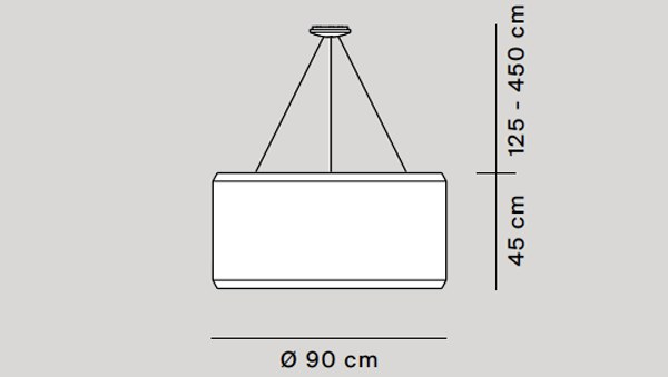 Silenzio diámetro 90 cm