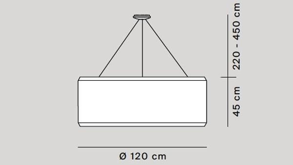 Silenzio diámetro 117 cm