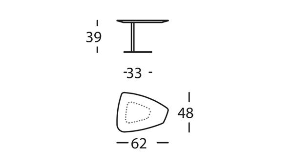 Rock Mesa 62x48x39