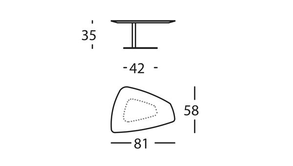 Rock Mesa 81x58x35