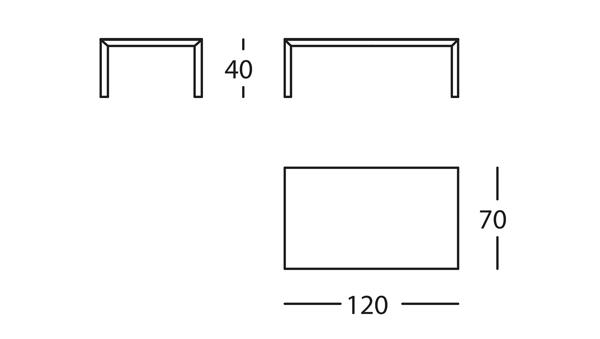 Capas Mesa 120x70x40