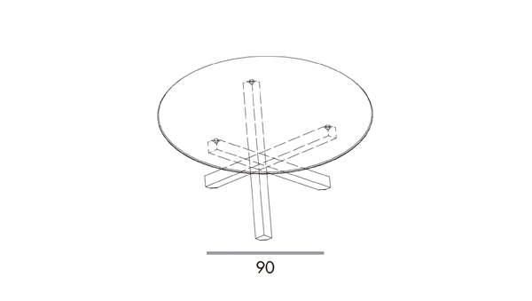 Aikido round diámetro 150x74h