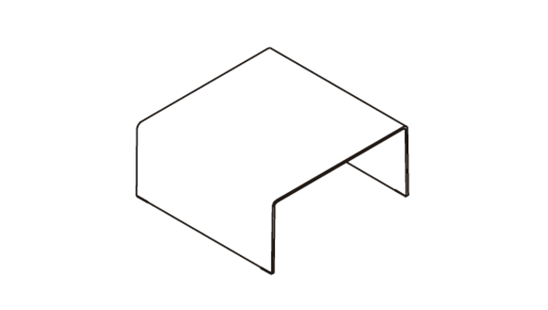 Bridge square 80x80x36h